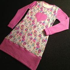Babuschka-Kleidchen mit Herz Applikation