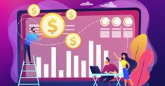 Tiny business people and analysts transforming data into money. Data monetization, monetizing of data services, selling of data analysis concept. Popular Ads, Instructional Design, Top Videos, Data Analytics, Continuing Education, App Development, Data Data, Big Data, Industry Trends