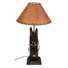 Fireside Home - W-811 Star w/ Wood Lamp, #homedecor #home #decor #homeaccent #western #westerndecor #country #primitivedecor (http://www.firesidehome.ca/star-w-wood-lamp/)