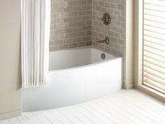 "alcove bathtub with glass doors | Expanse 60"" x 32"" alcove bath"