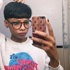 Mushroom Haircut + Planet Hollywood Sweatshirt