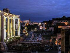 Foro Romano dal Campidoglio