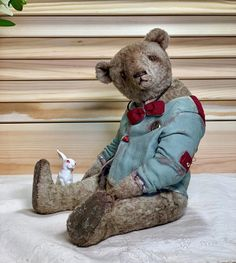 Albert by Olena Ostapuk | Teddy bears on Tedsby