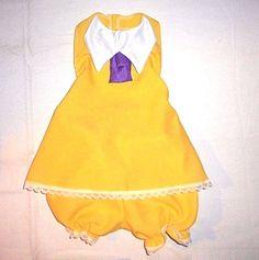 Toddler Jan Tarzan Sun Dress halter top w/lace bloomers 1-5 yrs Disney bound #Handmade