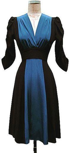TRASHY DIVA Rosalind Dress black/dragonfly