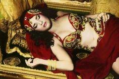 Youssef Nabil - Natacha Atlas Sleeping, 2000