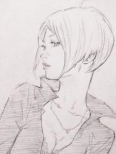 Art by 窪之内英策 Eisaku Kubonouchi Manga Drawing, Figure Drawing, Manga Art, Drawing Sketches, Art Drawings, Anime Art, Pencil Drawings, Comic Kunst, Comic Art