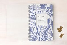 Wildflowers Day Planner, Notebook, or Address Book by j.bartyn at minted.com