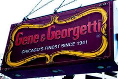 Hungry ? the best meat restaurants around the global village GENE AND GEORGETTI , CHICAGO , ILLINOIS , USA