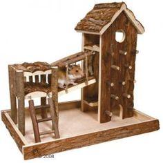 Birger speelplaats gemaakt van natuurhout