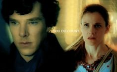 Sherlock Holmes and Molly Hooper / Sherlolly edit / you do count