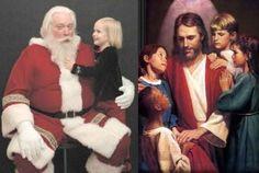 O Mito do Papai Noel Versus a Realidade de Jesus Cristo