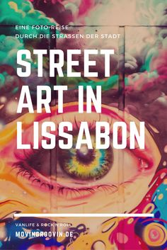 Street Art in Lisbon: Lisbon is known for its lively street art scene. Artists from Portugal and aro Street Art Graffiti, Death Valley, West Coast Usa, State Parks, Art Intervention, Oregon, Visit Melbourne, Sculpture Metal, Reisen In Europa