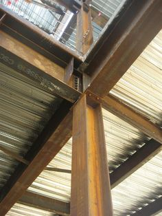 steel h beams rusted - Google Search