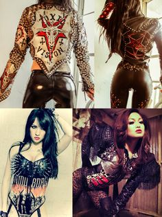 Welcome to Toxic Vision Heavy Metal Girl, Heavy Metal Fashion, Metallic Fashion, This Girl Can, Grunge, Rock Chick, Toxic Vision, Punk Fashion, Style Fashion