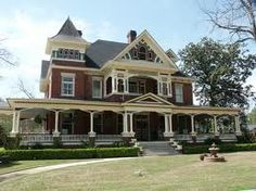 Completed in 1895, this Victorian home features a gabled roof eufaulapilgrimage.com