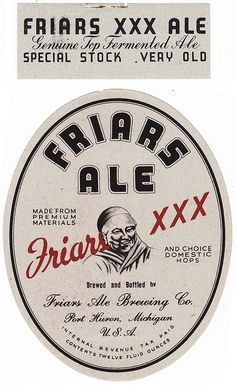 Friars Ale