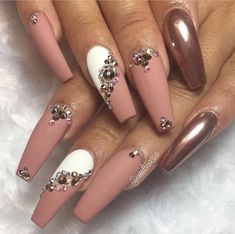Valentines day is approaching so it is time to start thinking about what your next set of nails will be for this special holiday. This post will give you 54 different nail design and nail art ideas that you can choose from. Surprise your significant other, friends, or even yourself with one of these nail designs.