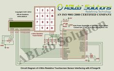 mq 5 lpg gas sensor interfacing with avr atmega16 microcontroller rh pinterest com Em Wiring Diagrams DC Wiring Diagrams