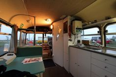 bedford 3 600x400   Bedford Bus to Tiny House Conversion