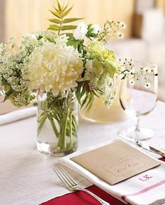 """See the """"Mini White Centerpiece"""" in our  gallery"""