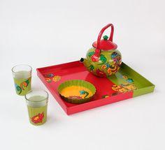 Snacks Delight Royal Elephant Tea Set  A combo of by AKrazyMug1, $61.00