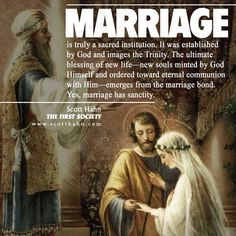 The First Society: The Sacrament of Matrimony and the Restoration of the Social Order Catholic Marriage, Catholic Quotes, Catholic Wedding, Catholic Prayers, Religious Quotes, Roman Catholic, Catholic Dating, Catholic Traditions, Catholic Answers