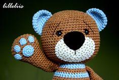 lilleliis.blogspot.com: Heegeldatud kaisukaru pojale/Crochet teddy bear for my…
