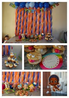 What time is it? It's time for.... BUBBLE GUPPIES! Everybody line up and check out this awesome Bubble Guppies Birthday Party!