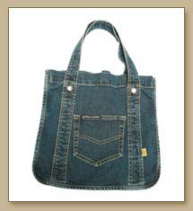 Denim Bag,Denim Bean Bag,Denim Tote Bag