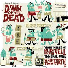 Dawn of the Dead by Dave Perillo - Montygog's Art-O-Rama!