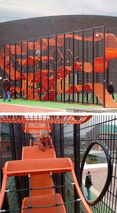 Love the use of (very little) space in this vertical playground by Carve. #urbanplay ✈✈--- Visit our shop canvas art ---✈✈ #playground ideas #playground architecture #playground design #playground room #playground backyard #playground diy #kids playground #indoor playground #natural playground #school playground #outdoor playground #urban playground #playground games #playground landscaping #children playground #playground art #playground plan #playground illustration #playground juegos…