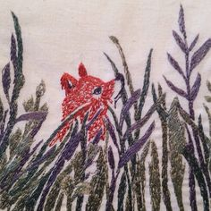 Coral & Tusk creates spirited embroidered textiles for the home and gifting. Coral And Tusk, Needle Felting, Needlepoint, Cross Stitch Patterns, Needlework, Applique, Embroidery, My Favorite Things, Drawings
