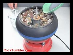 Thumler's UV-10 Rock Tumbler. I use this vibrating tumbler for a lot of my rock polishing.