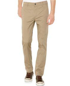 Levi's® 511 Slim-Fit Stretch Hybrid Trouser, Timberwolf - Pants - Men - Macy's