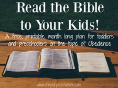 The bible 360217670180727490 - The perfect tool for moms who want to read the Bible to their small children, and aren't sure where to start. Source by Melocotonflower Family Bible Study, Bible Study Tips, Bible For Kids, Bible Lessons, Raising Godly Children, Catholic Kids, Scripture Reading, Lus, Christian Parenting