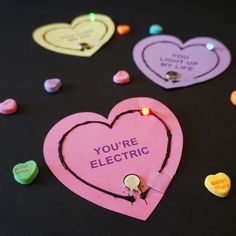 Light Up Valentine Circuits Left Brain Craft Brain FB2