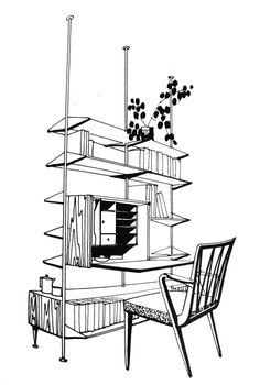 marcel breuer home organization. Black Bedroom Furniture Sets. Home Design Ideas