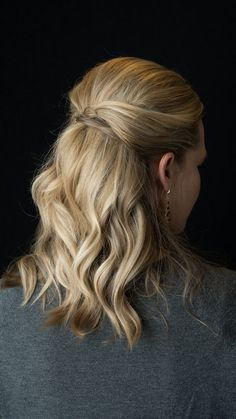 Stefani's Hair Look #Sephora #Prom #PromBeauty #Hairstyles #Hair #TheBeautyBoard