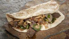 Receta de Tacos de pan árabe