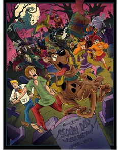 Scooby Doo Images, Scooby Doo Pictures, Retro Cartoons, Classic Cartoons, Desenho Scooby Doo, Cartoon Art, Cartoon Characters, Scooby Dog, Cartoon Network