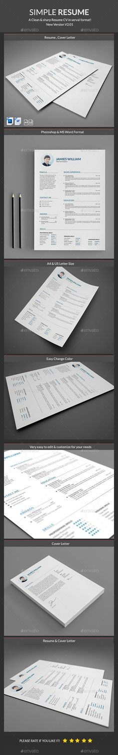 Resume Template PSD. Download here: http://graphicriver.net/item/resume/14971001?ref=ksioks