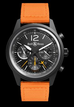 The new Bell & Ross Vintage BR 126 Blackbird watch.