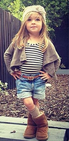 Definitely MY Amelia! Kids Outfits, Cute Outfits, Little Fashionista, Cute Little Baby, Stylish Kids, My Baby Girl, Beautiful Children, Kids And Parenting, Cute Kids