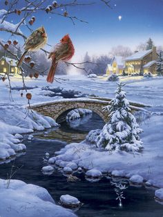 Darrel Bush  http://1.bp.blogspot.com/-Iso7WQ9pjw0/TsZ6PJSyb-I/AAAAAAAAC3U/NU5nl3PYda0/s1600/Christmas_440_Darrel+Bush.jpg
