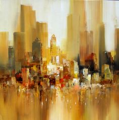 Acrylic Cityscape - Wilfred 2009