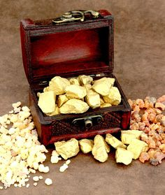 Health Benefits of Gold, Frankincense and Myrrh - Unknown to many people the resins of frankincense and myrrh have anti-cancer potential. There is an ongoing and very promising research.