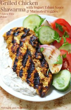 Grilled Chicken Shaw
