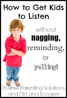 Get Kids to Listen Without Yelling – Free, Live Webinar! -