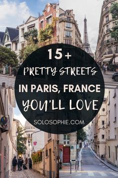 Looking for the best of Paris? Here are some of the most beautiful streets in Paris you'll love walking along. Roads and little lanes in the French Capital to visit on your France trip! Best Restaurants In Paris, Paris Hotels, Day Trip From Paris, Paris Travel Tips, Visit France, Beautiful Streets, Paris Street, Streets Of Paris, Famous Places